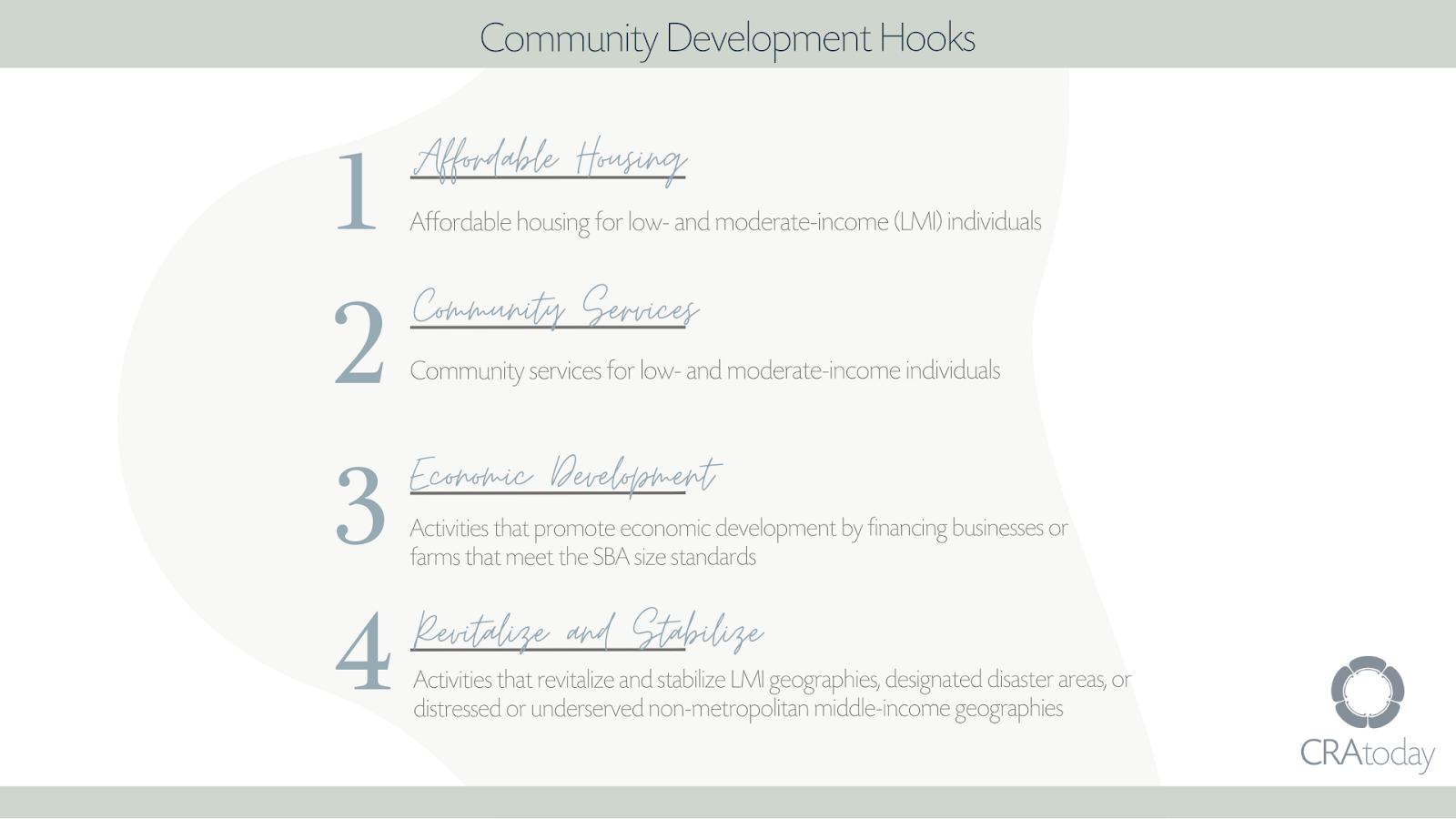 Community Development Hooks