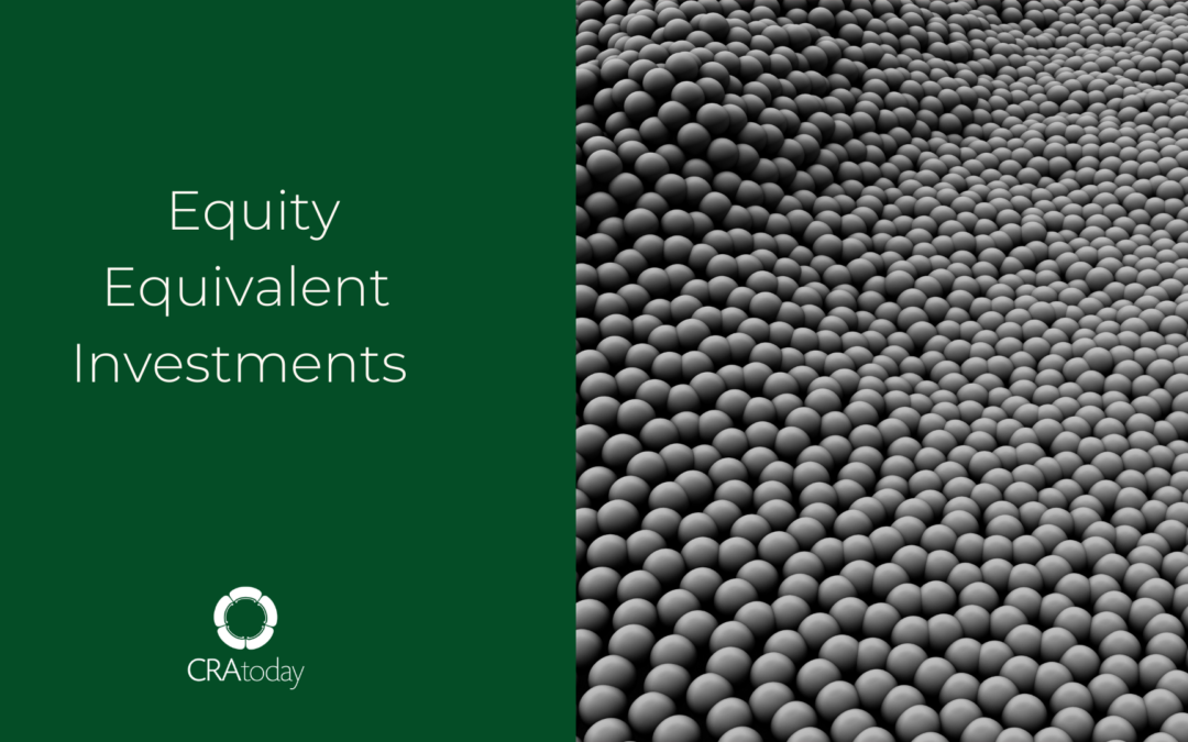 Equity Equivalent Investments-Multiplying Future Impact