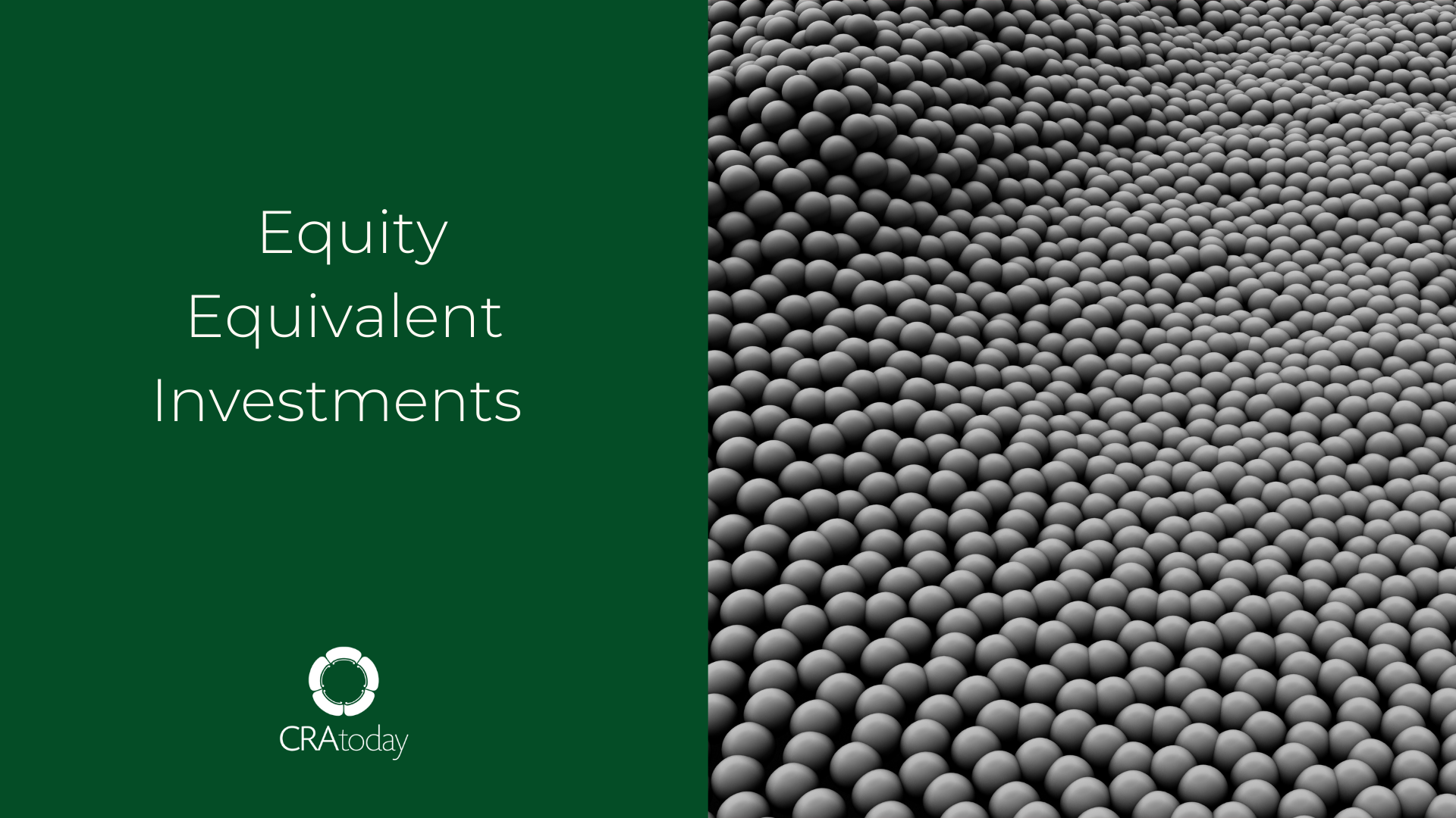 Equity Equivalent Investments