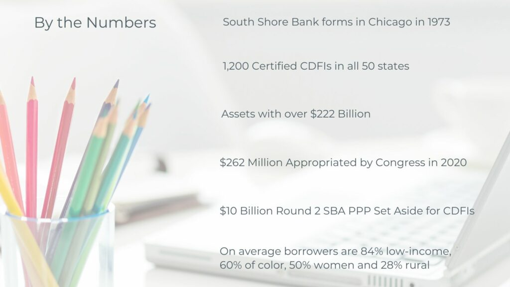 CDFIs By the Numbers